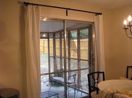 Stupendous Decorative Traverse Curtain Rods by Design Ideas Sliding Glass Door Curtain Rod Innovative