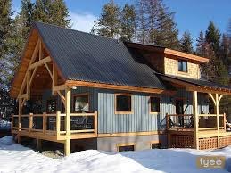 Chalet Style Lovely Chalet Style Home Plans 7 Hybrid Timber Frame Cabin Jpg