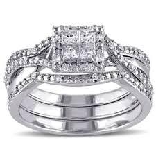 overstock wedding ring sets princess bridal sets wedding ring sets for less overstock