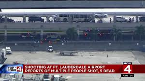 halloween city ft lauderdale 5 killed 8 wounded in shooting at fort lauderdale airport