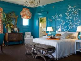 Romantic Ocean Blue Beach Bedroom Ideas For Couple Nove Home - Beach bedroom designs