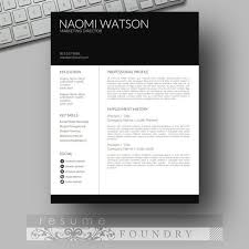 Free Eye Catching Resume Templates 98 Best Professional Resumes From Resume Foundry Images On