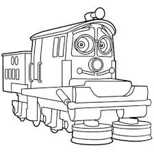 chatsworth from chuggington coloring page chatsworth from