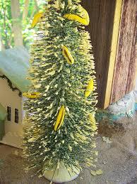 100 1547flocked vintage bottle brush christmas tree banana u2026 flickr
