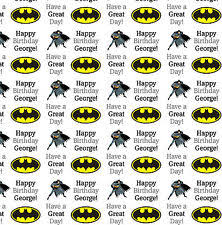batman christmas wrapping paper batman wrapping paper ebay