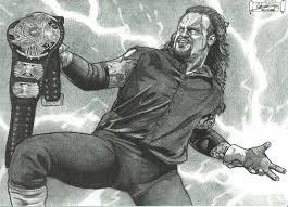 the undertaker wwe a dredfunn mechanical pencil portrait youtube