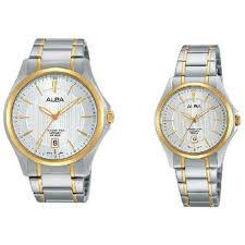 Jam Tangan Alba Pasangan harga alba jam tangan pasangan silver gold stainless