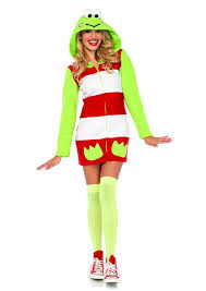 keroppi cozy fleece dress costume yourlamode