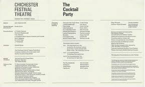 cast list the cocktail party 1968 u2013 pass it on