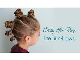 the bun the bun hawk hair day hairstyles