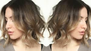 messy effortless waves short hair tutorial jamiepaigebeauty