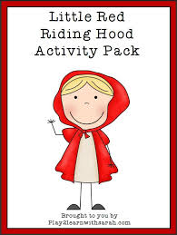 red riding hood printable pack red riding hood free