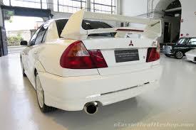 lancer evo white 2001 mitsubishi lancer evo vi tommi makinen edition classic