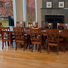 baytown double pedestal extension table amish tables