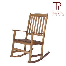 Wooden Rocking Chair Outdoor Rocking Chair Rockie Thinh Phu Furniture