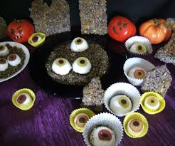 Halloween Eyeball Jello Molds by Edible Eyeballs With Bloody