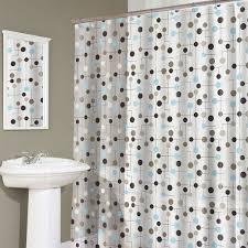 bathroom decorative black white modern unique shower curtain