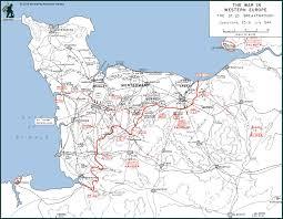 Normandy Map A La Carte Normandy Campaign Private Tour