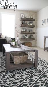 Easy Wood Coffee Table Plans by Best 25 Diy Crate Coffee Table Ideas On Pinterest