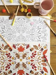 printable coloring thanksgiving placemats the house that lars built