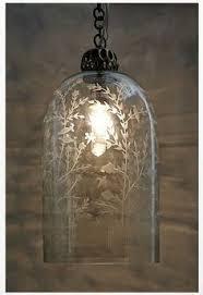 Anthropologie Lighting Uteki Painted Lamp Ensemble Painted Lamp And Lights