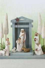 home interior jesus figurines nativity willow tree
