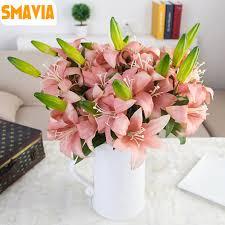 Silk Calla Lilies Online Get Cheap Calla Artificial Silk Flowers Aliexpress Com
