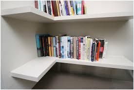 Corner Shelving Ideas by Decoration Ideas Natural Plywood Floating Corner Shelves L Shaped