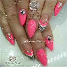 pink nails with gold glitter vvvt info