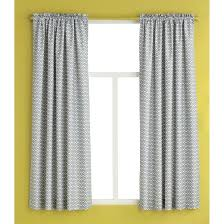 Chevron Panel Curtains Curtain Panel Gray Chevron Room Essentials Target
