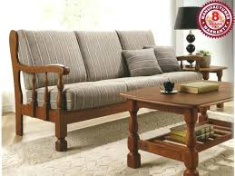 wooden sofa set catalogue singapore designs for small living room