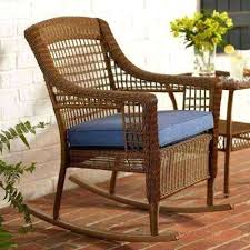 Patio Furniture Glider by Patio Furniture Rocking Chair Set Lemon Grove Custom Wicker