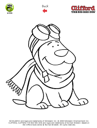 clifford coloring pages pbs kids clifford the big red dog printables