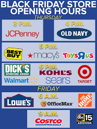 walmart open time black friday black friday store hours stores open as early as 3pm for deals