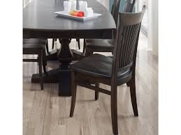 custom dining room table canadel custom dining customizable slat back side chair wood