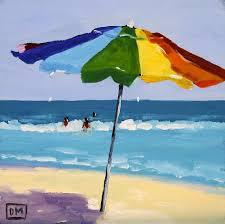 Beech Umbrella Beach Umbrella Paintings Fine Art America