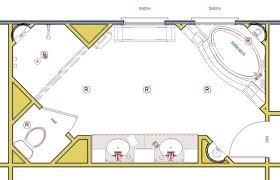 large master bathroom floor plans large space offer seating design b u i l d