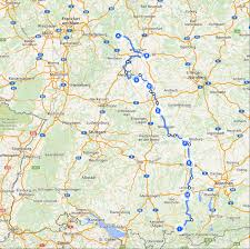Rothenburg Germany Map by Escorted Motorhome Tour Germany U0027s Romantic Road
