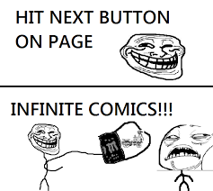 Physic Meme - hit next button on page get infinite comics troll science