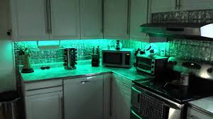 under cabinets led lights multi color led under cabinet lighting youtube
