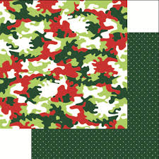 camo christmas jungle all the way collection christmas 12 x 12 sided