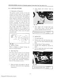 1974 yamaha dt100 dt125 dt175 enduro motorcycle service manual