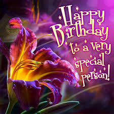 happy birthday to a very special person card 18 category