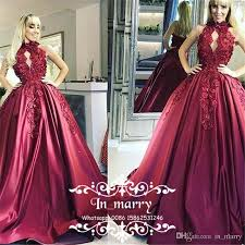 masquerade red ball gown quinceanera dresses 2017 high neck