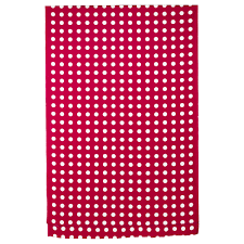 lialotta plastic coated fabric red white just bought this at