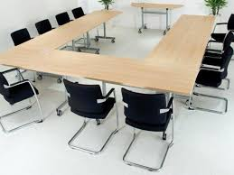 Designer Boardroom Tables Creative Of Trapezoid Conference Table With 6 24 Modern Conference