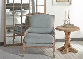 linen chair arm chair spruce belgian linen nail heads