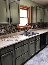 green kitchen paint with oak cabinets the time i flipped a golden oak kitchen to a moss green