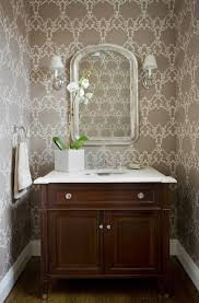 chic powder room transitional bathroom kate coughlin interiors