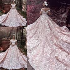 2017 elie saab new style blush church train country wedding
